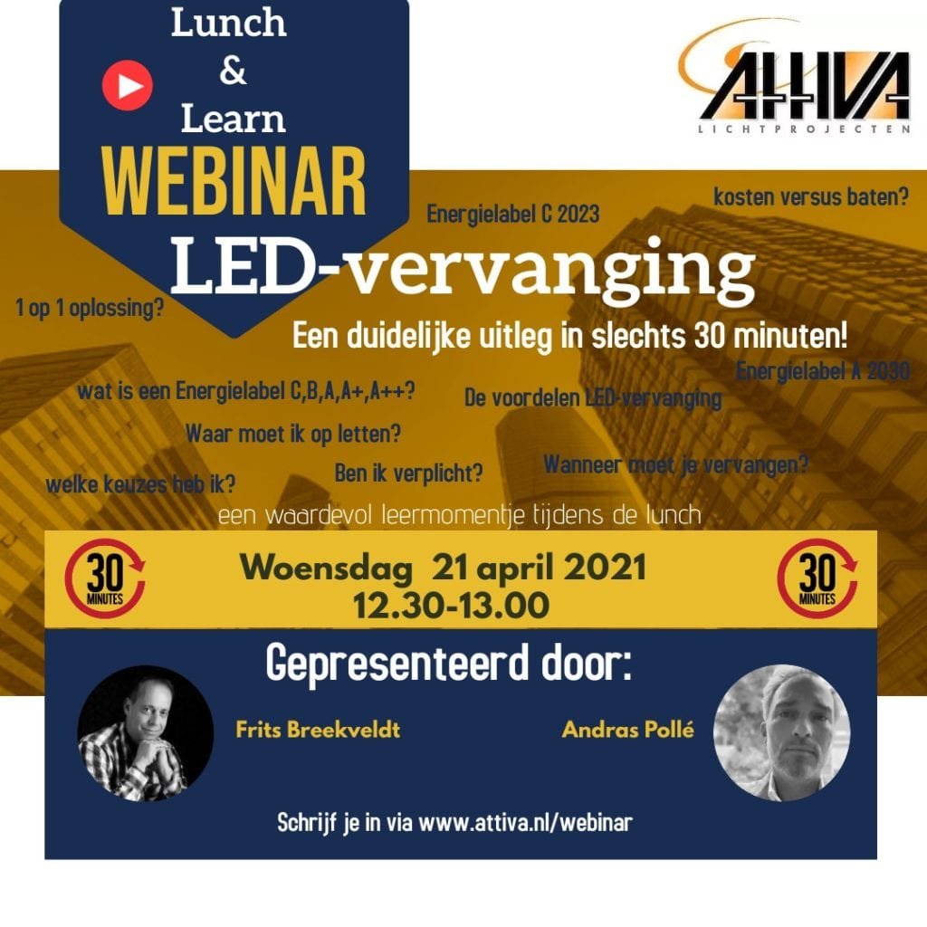 webinar Led vervanging